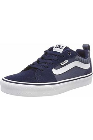 Vans Men Trainers - Men's Filmore Low-Top Sneakers (Suede Canvas) Dress Blues/Vintage Indigo T2l