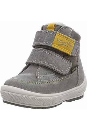 Superfit Boys' Groovy Snow Boots, (Grau/Gelb 25)