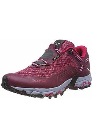 Salewa Women's WS Speed Beat GTX Trail Running Shoes, Rot Plum/Rose 6896