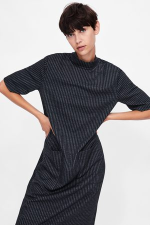 Zara Women Midi Dresses - MIDI DRESS WITH POCKETS