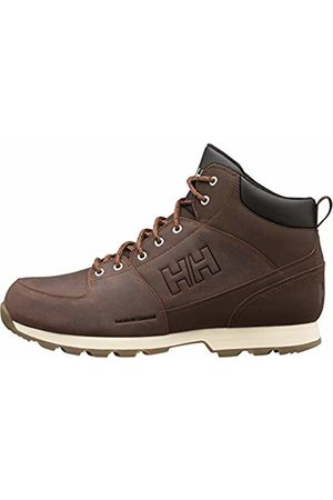 Helly Hansen Men's Tsuga High Rise Hiking Shoes, (Brunette/Jet /NAT 708)