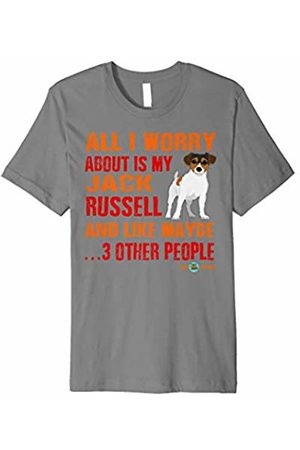 ToonTyphoon Funny Jack Russell T-Shirt All I Worry About