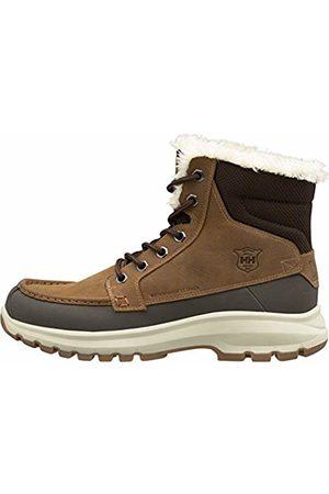 Helly Hansen Men's Garibaldi V3 Snow Boots, (Tobacco /Espresso/ Natura 766)