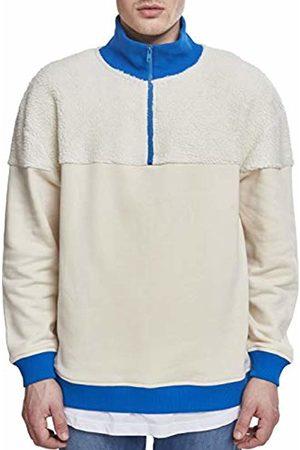 Urban classics Men's Oversize Sherpa Troyer Sweatshirt