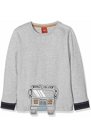 Salt /& Pepper Baby Boys B Longsleeve Cars Stripe Ocs T-Shirt
