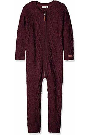Name it Girl's Nmfwrilla Wool Ls Knit Suit Noos Dungarees Prune