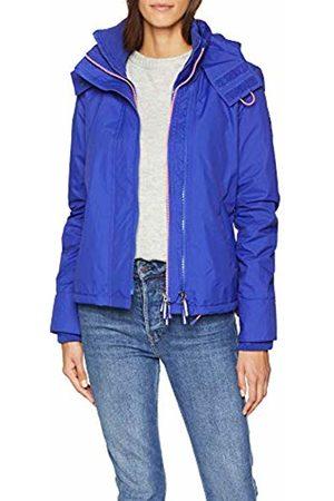 Superdry Women's Arctic Hooded Pop Zip Windchea Sports Jacket (Toucan /Fluro Candy Ru5)