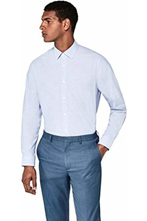 Hem & Seam Men Business - Men's Cotton Regular Fit Formal Shirt