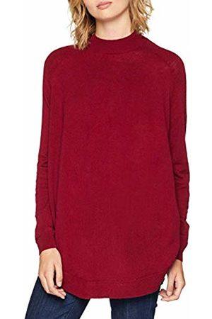 Selected Women Jumpers & Sweaters - Femme Women's Slfeileen Ls Knit Highneck B Jumper (Beet Pattern:Melange)
