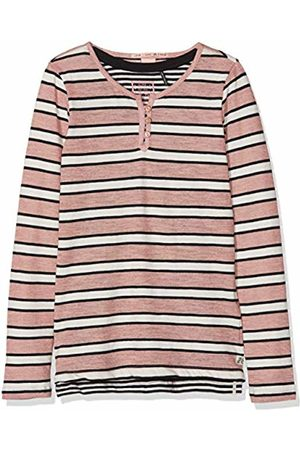 Scotch&Soda R´Belle Girl's 2-in-1 Style: Long Sleeve Lurex Tee with Inner Tank T-Shirt
