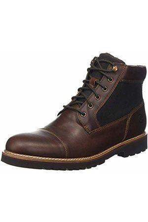 Rockport Men's Marshall Rugged Cap Toe Boot Classic Saddle