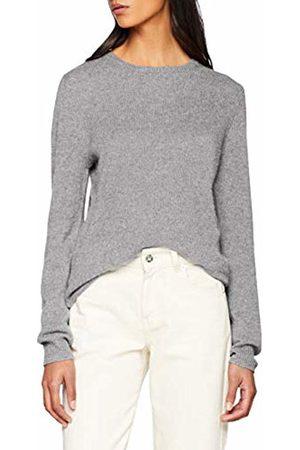 SPARKZ COPENHAGEN Women's Pure Cashmere O-Neck Pullover Jumper ( Melange)