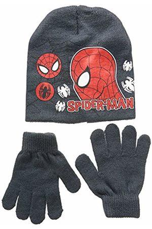 Disney Unisex Child Conjunto 2 Pcs Gorro + Guantes Spiderman Set 2 Pcs Hat + Gloves