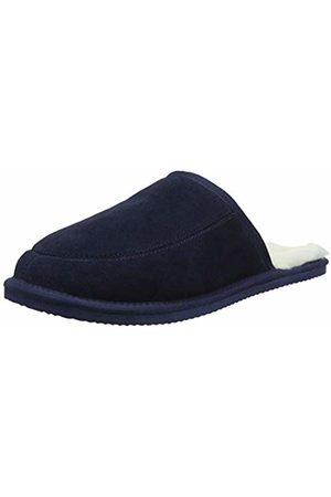 Snugrugs Men's Jessie Open Back Slippers, Navy