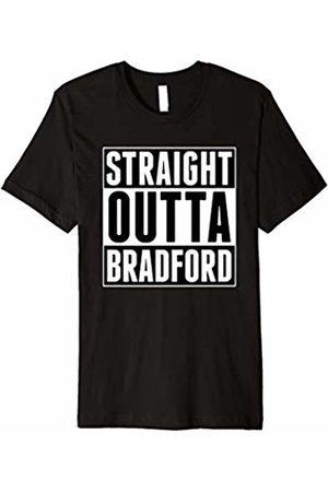 Straight Outta Bradford T-Shirt Straight Outta Bradford United Kingdom Yorkshire T-Shirt
