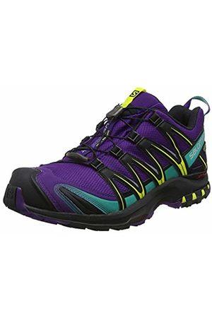 Salomon Women's XA Pro 3D GTX Trail Running Shoes, Synthetic/Textile, Mauve/ (Acai/ /Dynasty )