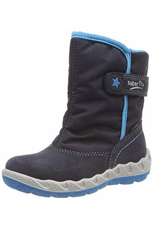 Superfit Boys' Icebird Snow Boots, Blau 80