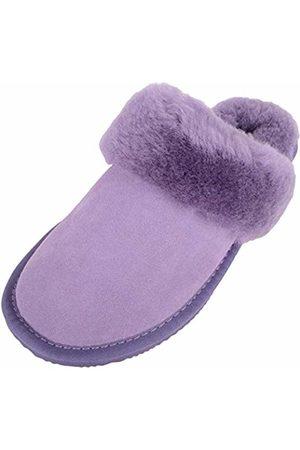 Snugrugs Women's Elsie Open Back Slippers, Lilac