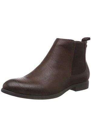 Jack & Jones Men's Jfwabbott Pu Chelsea Boots, Java
