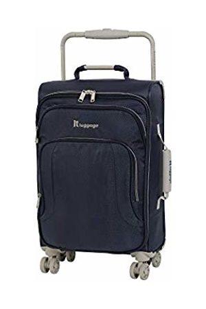 IT Luggage World's Lightest New York 8 Wheel Super Lightweight Cabin Suitcase, 56 cm