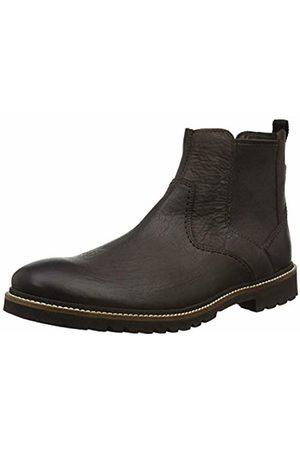 Rockport Men's Marshall Chelsea Boot, Dark Bitter Chocolate
