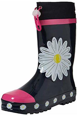 Playshoes Unisex Kids' Gummistiefel Margeriten Wellington Boots