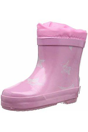 Playshoes Unisex Kids' Gummistiefel Sterne Gefüttert Nieder Wellington Boots
