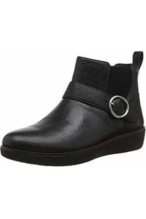 FitFlop Women's BRIA Buckle Ankle Boots ( 001)