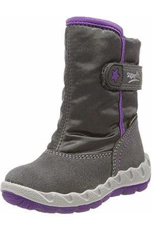 Superfit Girls' Icebird Snow Boots, (Grau/lila 21)