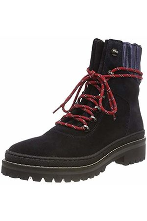 Tommy Hilfiger Women's Modern Hiking Boot Suede Combat