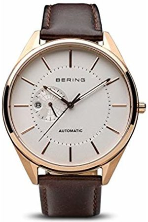Bering Men's Analogue Automatic Watch with Leather Strap 16243-564
