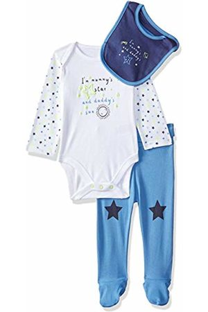 Mothercare Baby Boys 3 Piece Mummy & Daddy Set Clothing, (Lights Multi)
