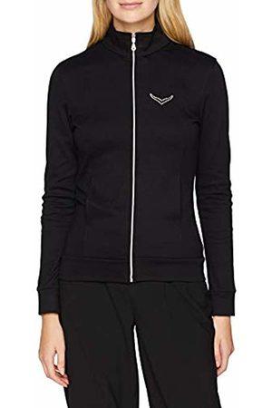 Trigema Women's Damen Jacke mit Swarovski® Kristallen Long Sleeve Track Jacket - - UK 12
