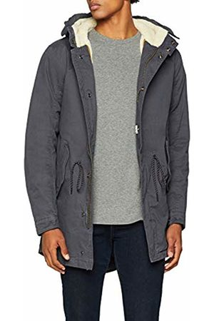 Scotch&Soda Men's Classic Hooded Parka with Teddy Lining