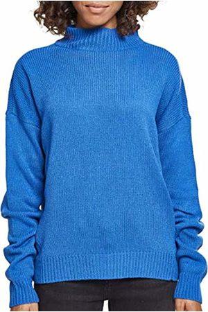 Urban classics Women's Ladies Oversize Turtleneck Sweater Sweatshirt