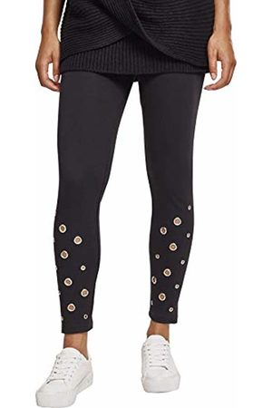 Urban classics Women's Ladies Eyelet Leggings ( 00007)