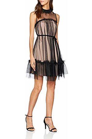 Apart Women's Midnight Forrest- -DIP DYE Dress Nude