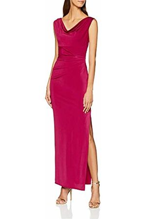 Dorothy Perkins Women's Monroe Maxi Party Dress, (Berry)