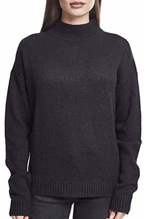 Urban classics Women's Ladies Oversize Turtleneck Sweater Sweatshirt ( 00007)