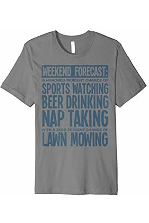 Weekend T-Shirt Weekend Forecast Sports Beer Naps Graphic T-Shirt