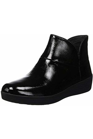 FitFlop Women's Supermod Leather Tm Ankle Boot Ii Hi-Top Trainers ( Patent 045)