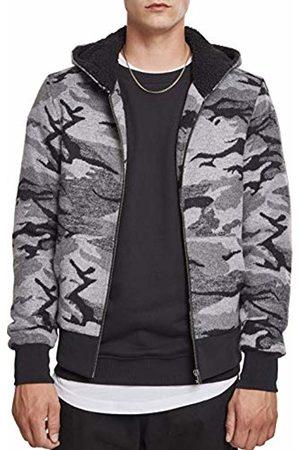 Urban classics Men's Camo Zip Jacket