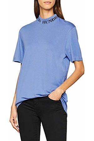 Won Hundred Women's Prague T - Shirt, (Bleached Denim)