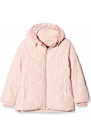 Name it Girl's Nmfmil Puffer Jacket Camp, Strawberry Cream