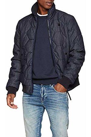f1df68aa1a1 G-Star Men's Whistler Meefic Quilted Bomber Jacket, Denim 001 .