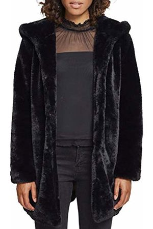 Urban classics Women's Ladies Hooded Teddy Coat ( 00007)