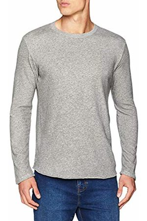 Edwin Men's Terry TS LS Long Sleeve Top (Dark Heather ZM67)