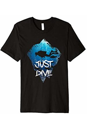 XASTY Scuba Diving Freediving Apnea Dive Shirts Just Dive Diver Scuba Diving Freediving Apnea Sea Dive Shirt