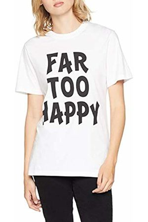 House of Holland Women's FAR Too Happy SS TEE T - Shirt