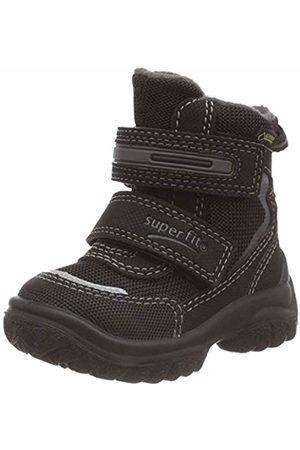 Superfit Boys' Snowcat Snow Boots, (Schwarz/grau 00)